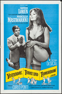 """Yesterday, Today and Tomorrow (Embassy, 1964). One Sheet (27"""" X 41""""). Foreign"""