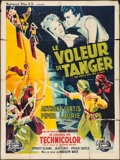 "Movie Posters:Adventure, The Prince Who Was a Thief (Universal International, 1951). FrenchGrande (47"" X 63""). Adventure.. ..."