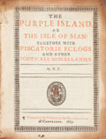 Books:Literature Pre-1900, Phineas Fletcher. The Purple Island Or The Isle Of Man: TogetherWith Piscatorie Eclogs And Other Poeticall Miscellanies...