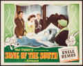 """Movie Posters:Animation, Song of the South & Others Lot (RKO, 1946). Lobby Card (11"""" X 14"""") and Reprint Cartoon Posters (4) (14"""" X 21""""). Animation.. ... (Total: 5 Items)"""