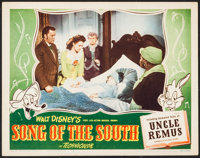 """Song of the South & Others Lot (RKO, 1946). Lobby Card (11"""" X 14"""") and Reprint Cartoon Posters (4) (14..."""