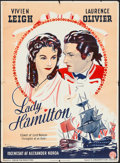 """Movie Posters:Drama, That Hamilton Woman (Constantin Films, 1946). First Release DanishPoster (24.25"""" X 33.25""""). Drama. Alternate Title: Lady ..."""
