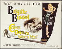 "Come Dance With Me! (Kingsley International, 1960). Half Sheet (22"" X 28""). Foreign"