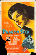 "Movie Posters:War, Dragon Seed (MGM, 1944). One Sheet (27"" X 41"") Style C. War.. ..."