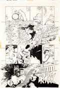 Original Comic Art:Panel Pages, Frank Miller and Klaus Janson Batman: The Dark KnightReturns #2 Page 8 Original Art (DC, 1986)....