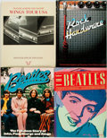 Books:Music & Sheet Music, [Music]. Group of Four Books. Various publishers and dates. ... (Total: 4 Items)