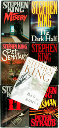 Books:Horror & Supernatural, Stephen King. Group of Seven First Editions. Various publishers anddates. ... (Total: 7 Items)