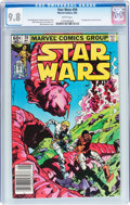 Modern Age (1980-Present):Science Fiction, Star Wars #59 (Marvel, 1982) CGC NM/MT 9.8 White pages....