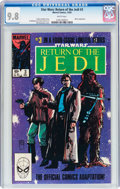 Modern Age (1980-Present):Science Fiction, Star Wars: Return of the Jedi #3 (Marvel, 1983) CGC NM/MT 9.8 Whitepages....