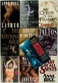 Books:Horror & Supernatural, Anne Rice. Group of Ten First Editions. Various publishers anddates. ... (Total: 10 Items)