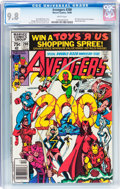 Modern Age (1980-Present):Superhero, The Avengers #200 (Marvel, 1980) CGC NM/MT 9.8 White pages....