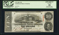 Confederate Notes:1863 Issues, T59 $10 1863 PF-17 Cr. 438.. ...