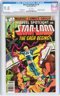 Modern Age (1980-Present):Superhero, Marvel Spotlight V2#6 Star-Lord (Marvel, 1980) CGC NM/MT 9.8 Whitepages....
