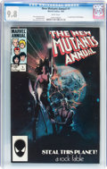 Modern Age (1980-Present):Superhero, New Mutants Annual #1 (Marvel, 1984) CGC NM/MT 9.8 White pages....
