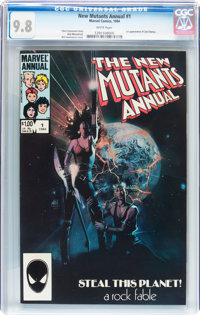 New Mutants Annual #1 (Marvel, 1984) CGC NM/MT 9.8 White pages