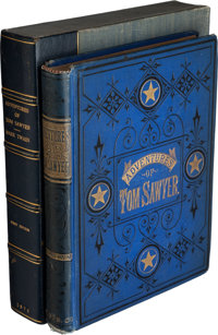 Mark Twain [pseudonym of Samuel Langhorne Clemens]. The Adventures of Tom Sawyer. Ha