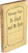 Books:Literature Pre-1900, Robert Louis Stevenson. Strange Case of Dr. Jekyll and Mr. Hyde. New York: Charles Scribner's Sons, 1886....