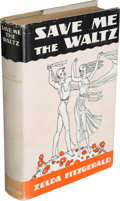 Books:Literature 1900-up, Zelda Fitzgerald. Save Me the Waltz. New York: CharlesScribner's Sons, 1932....
