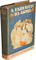 Books:Literature 1900-up, Ernest Hemingway. A Farewell to Arms. New York: CharlesScribner's Sons, 1929. ...