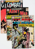 Silver Age (1956-1969):War, DC Silver Age War Comics Group of 30 (DC, 1960s) Condition: Average VG-.... (Total: 30 Comic Books)