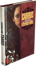 Books:Horror & Supernatural, Stephen King. INSCRIBED. Carrie. Garden City: Doubleday& Company, 1974....
