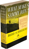 Books:Literature 1900-up, Budd Schulberg. What Makes Sammy Run? New York: RandomHouse, [1941]....