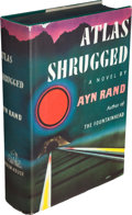 Books:Literature 1900-up, Ayn Rand. Atlas Shrugged. New York: Random House, [1957]....