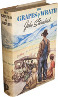 Books:Literature 1900-up, John Steinbeck. The Grapes of Wrath. New York: Viking Press,[1939]....