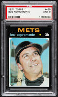 Baseball Cards:Singles (1970-Now), 1971 Topps Bob Aspromonte #469 PSA Mint 9....