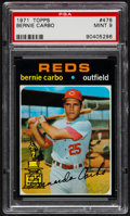 Baseball Cards:Singles (1970-Now), 1971 Topps Bernie Carbo #478 PSA Mint 9....