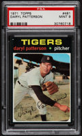 Baseball Cards:Singles (1970-Now), 1971 Topps Daryl Patterson #481 PSA Mint 9....