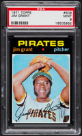 Baseball Cards:Singles (1970-Now), 1971 Topps Jim Grant #509 PSA Mint 9....