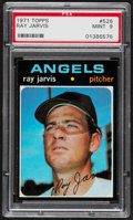 Baseball Cards:Singles (1970-Now), 1971 Topps Ray Jarvis #526 PSA Mint 9....