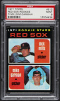 Baseball Cards:Singles (1970-Now), 1971 Topps Red Sox Rookies #512 PSA Mint 9....