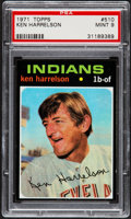 Baseball Cards:Singles (1970-Now), 1971 Topps Ken Harrelson #510 PSA Mint 9....