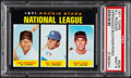 Baseball Cards:Singles (1970-Now), 1971 Topps N.L. Rookies Bill Buckner #529 PSA Mint 9....