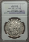 1893-O $1 -- Improperly Cleaned -- NGC Details. VF. NGC Census: (125/2802). PCGS Population: (207/4095). CDN: $275 Whsle...
