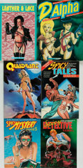 Books:Pulps, [Pulp Fiction]. Group of Six Books. Malibu Graphics, [variousdates]. ... (Total: 6 Items)