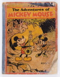 Platinum Age (1897-1937):Miscellaneous, Adventures of Mickey Mouse - Book 1 (David McKay Publications, 1931) Condition: FR....