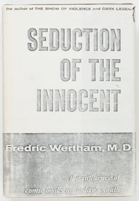 Seduction of the Innocent Second Edition Hardcover Book (Rinehart, 1954) Condition: FN