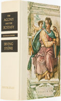 Books:Fiction, Irving Stone. SIGNED. The Agony and the Ecstasy. A Novel of Michelangelo. Garden City: Doubleday & Company, 1963. ...