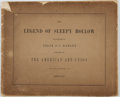 Books:Art & Architecture, Felix O. C. Darley, American artist (1822-1888). Illustrations of the Legend of Sleepy Hollow Designed and Sketched by F...