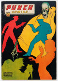 Golden Age (1938-1955):Crime, Punch Comics #11 (Chesler, 1944) Condition: Apparent VG....