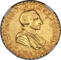 Mexico, Mexico: Charles III gold 2 Escudos 1760 Mo-MM XF Details(Scratches) NGC,...