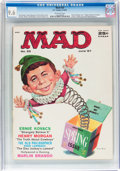 Magazines:Mad, Mad #33 (EC, 1957) CGC NM+ 9.6 Off-white pages....