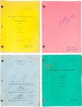 """Movie/TV Memorabilia:Autographs and Signed Items, A Debbie Reynolds Collection of Used and Annotated Scripts from HerTelevision Series, """"The Debbie Reynolds Show.""""... (Total: 26 )"""
