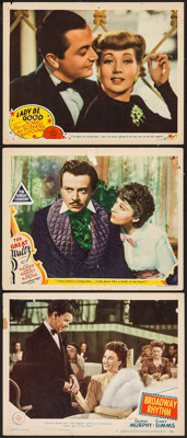 "The Great Waltz & Others Lot (MGM, 1938). Lobby Cards (3) (11"" X 14""). Drama. ... (Total: 3 Items)"