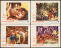 """Movie Posters:Romance, Golden Earrings (Paramount, 1947). Lobby Cards (4) (11"""" X 14""""). Romance.. ... (Total: 4 Items)"""