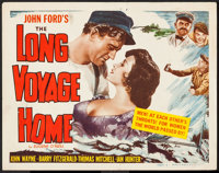 """The Long Voyage Home (Masterpiece Productions, R-1948). Title Lobby Card (11"""" X 14""""). Drama"""