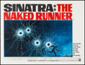 "Movie Posters:Drama, The Naked Runner (Warner Brothers, 1967). British Quad (30"" X 40""). Drama.. ..."